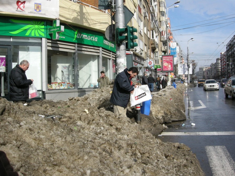 Bucharest in 'ugly and dirty' shock