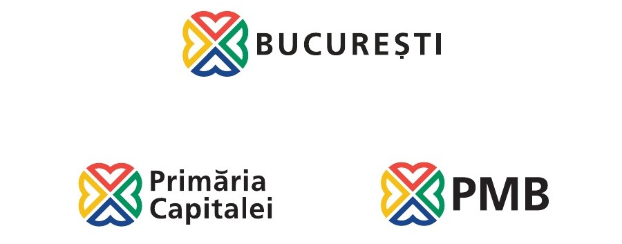 Bucharest's new logo
